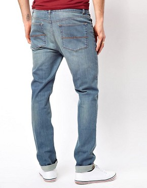 Image 2 ofASOS Skinny Jeans In Light Blue