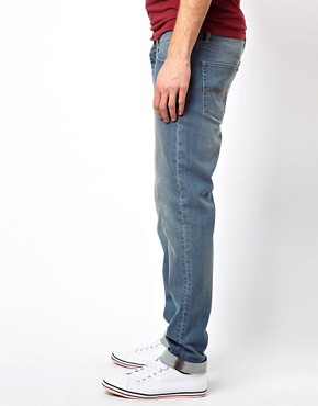 Image 4 ofASOS Skinny Jeans In Light Blue