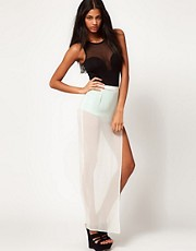 ASOS Maxi Skirt with Sequin Knickers