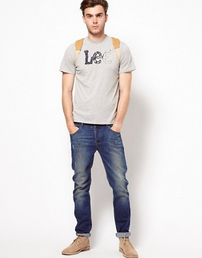 Image 4 ofLee Logo T-Shirt With Crew Neck
