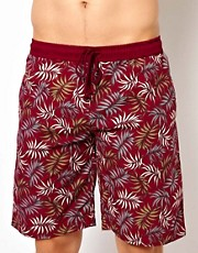 Pa:Nuu Leaf Boardshort