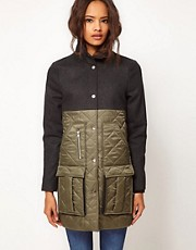 ASOS Wool Mix Parka