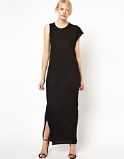 Denham Asymmetric Maxi Dress
