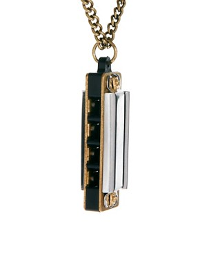 Image 4 of Icon Brand Harmonica Necklace
