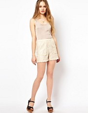 Jovonnista Lace Shorts
