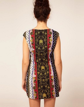 Image 2 ofRiver Island Scarf Print Dress
