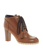 See By Chloe Leather Lace Up Boots