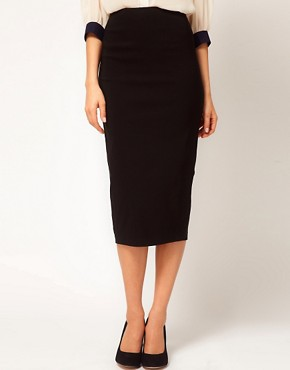 Image 4 ofASOS Bengaline Pencil Skirt