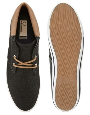 Image 3 ofFred Perry Exclusive to ASOS Byron Wool Chukka Boots