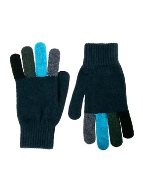 Image 1 ofPaul Smith Jeans Gloves