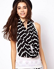 ASOS Stripe Snood