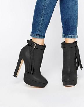Lipsy Katie Platform Tassel Boots