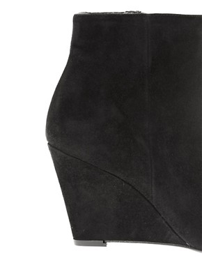 Image 2 ofDune Navern Pointed Wedge Ankle Boots