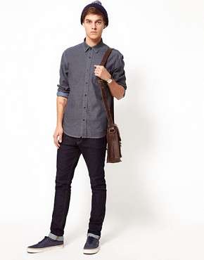 Image 4 ofSelected Denim Pocket Shirt