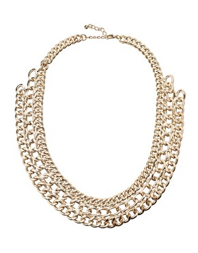Image 1 of Pieces Mille Chunky Chain Short Necklace