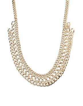 Image 2 of Pieces Mille Chunky Chain Short Necklace
