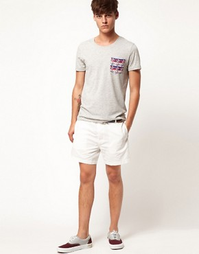 Image 4 ofASOS Chino Shorts In Short Length