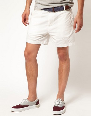 Image 1 ofASOS Chino Shorts In Short Length