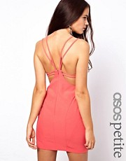 ASOS PETITE Exclusive Strappy Back Mini Dress
