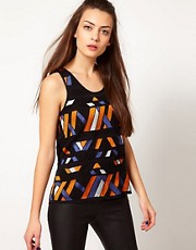 Selected Beaded Tribal Vest