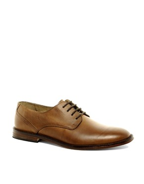 Image 1 of ASOS Derby Shoes With Leather Sole