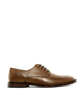 Image 4 of ASOS Derby Shoes With Leather Sole