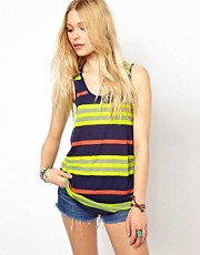 River Island Stripe Vest