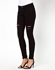 Warehouse Distressed Skinny Jean