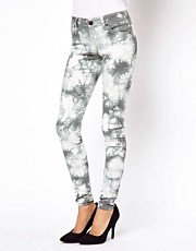 ASOS Skinny Jeans in Tie Dye