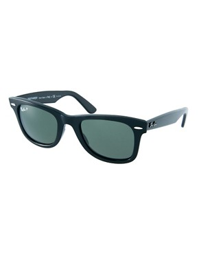 Image 1 ofRay-Ban Wayfarer Sunglasses with Polarised Lens