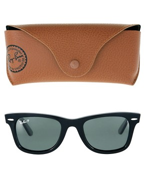 Image 2 ofRay-Ban Wayfarer Sunglasses with Polarised Lens