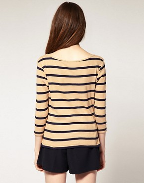 Image 2 ofRiver Island Stripe Top