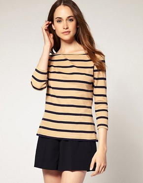 Image 1 ofRiver Island Stripe Top