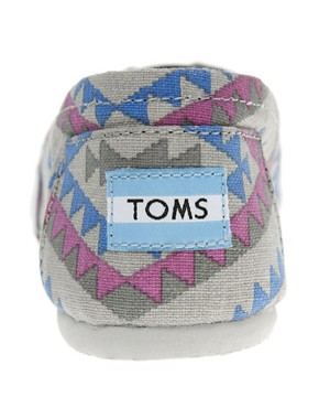 Image 2 ofTOMS Seasonal Classic Ash Indo Flat Shoes