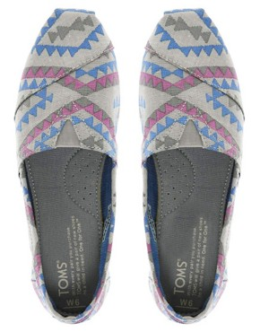 Image 3 ofTOMS Seasonal Classic Ash Indo Flat Shoes