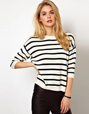 Mango Miranda Breton Stirpe Sweater