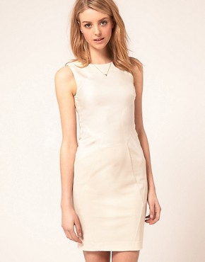Image 1 ofTed Baker Panelled Pencil Dress