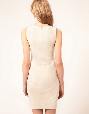 Image 2 ofTed Baker Panelled Pencil Dress