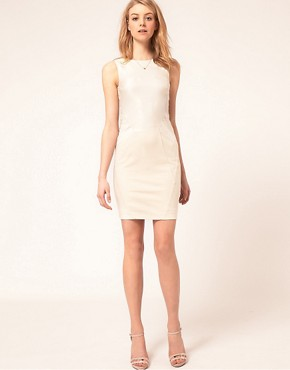 Image 4 ofTed Baker Panelled Pencil Dress