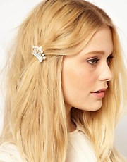 Johnny Loves Rosie Crystal Crown Hair Clip
