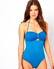 Esprit Waffle Swimsuit