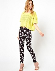 Oh My Love Printed Trouser