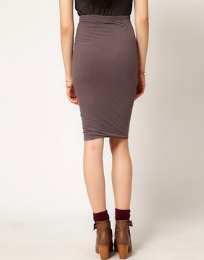 Image 2 ofPeople Tree Jersey Pencil Skirt