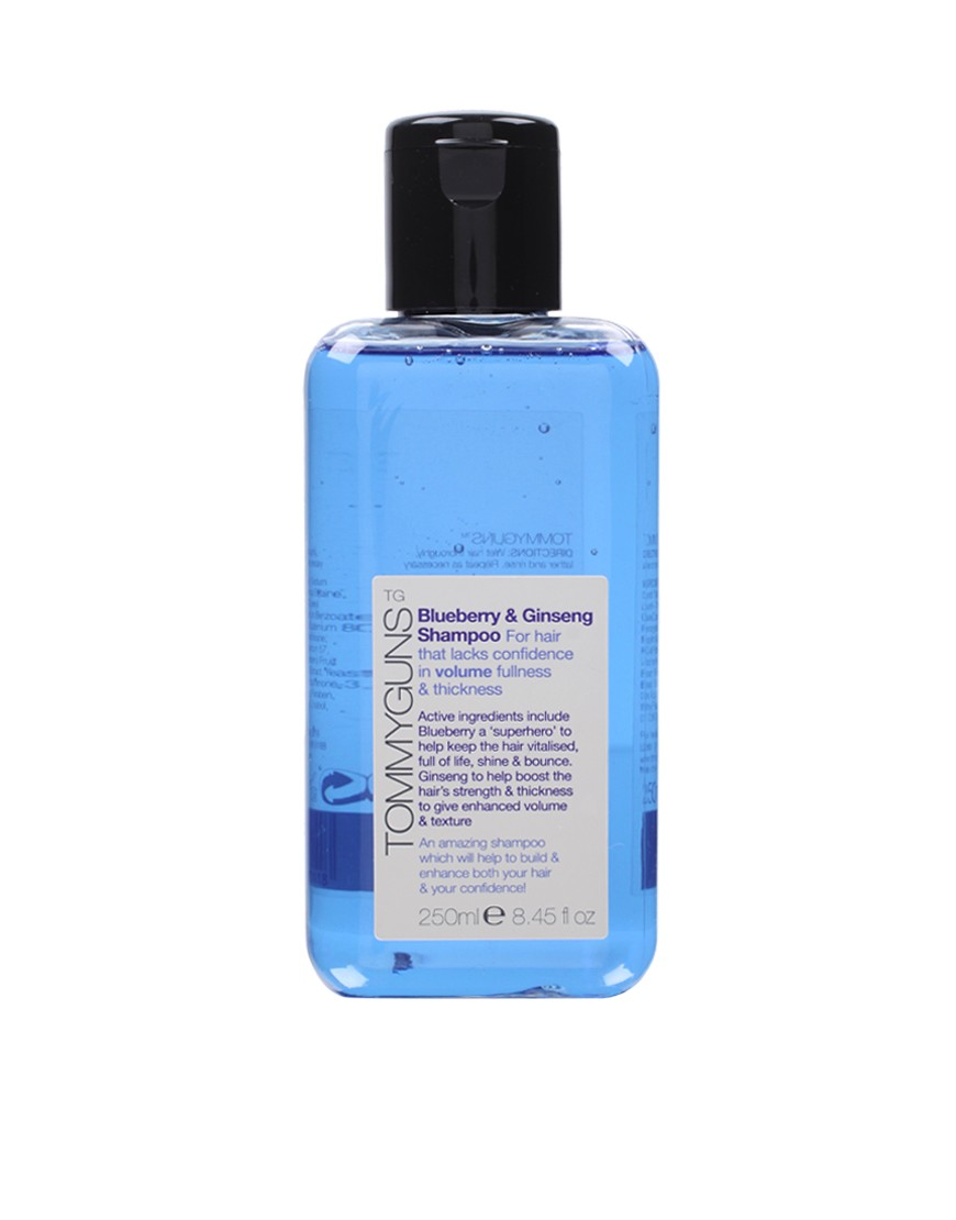 Image 1 of Tommy Guns Blueberry & Ginseng Shampoo For Hair That Lacks Volume 250ml