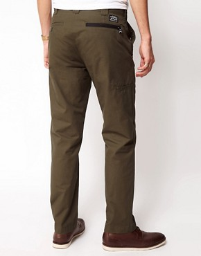 Image 2 ofBlack Chocoolate Chino With Zip Detail