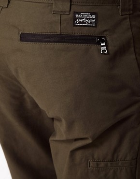 Image 3 ofBlack Chocoolate Chino With Zip Detail