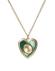Accessorize Heart Pendant Watch