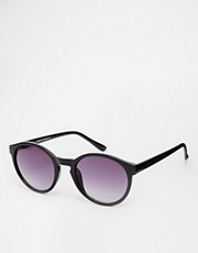 ASOS Keyhole Round Sunglasses