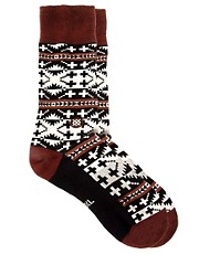 Stance Mesa Patterned Socks