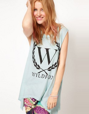 Image 1 ofWildfox Laurel Tank